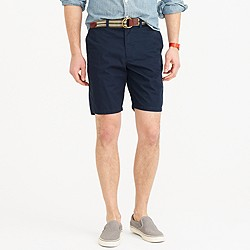 "9"" short in lightweight chino"