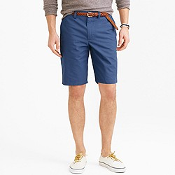 "10.5"" club short in lightweight chino"