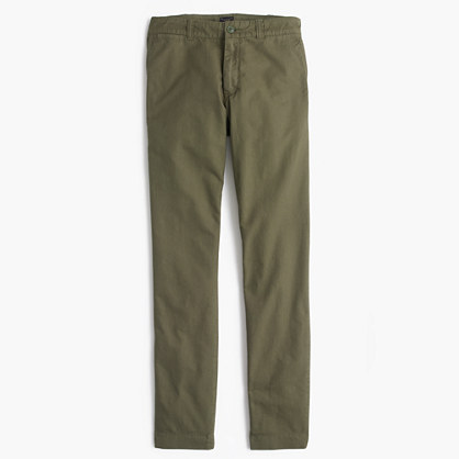 Garment-dyed oxford cloth chino in 484 fit