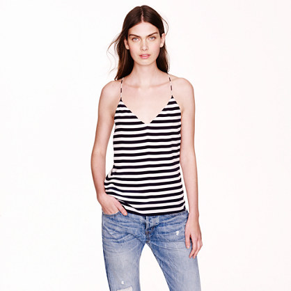 Carrie cami in stripe