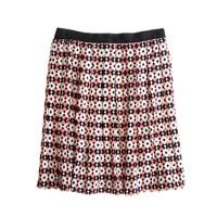 Silk diamond tile skirt