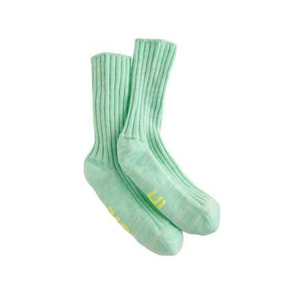 Girls' chat no-slip socks