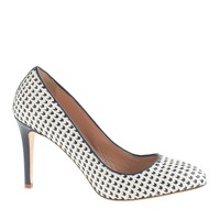 Collection Sloane woven leather pumps