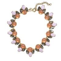 Double gem necklace
