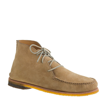 Men's Quoddy® for J.Crew suede Dubois chukkas