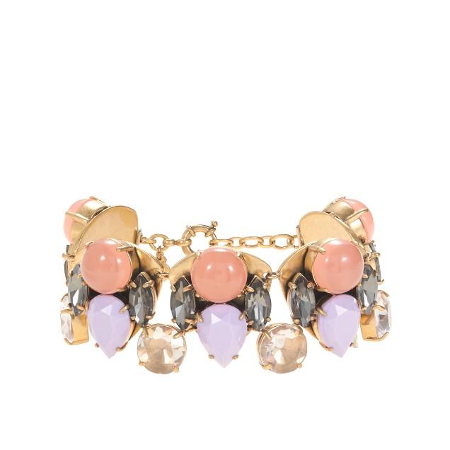 Double gem bracelet