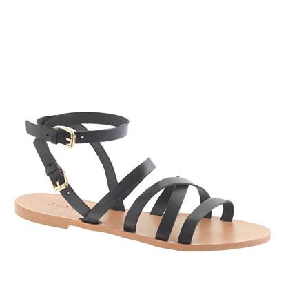 Maren cross-strap sandals
