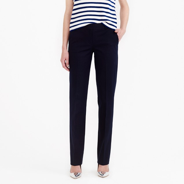 Bristol trouser in stretch cotton