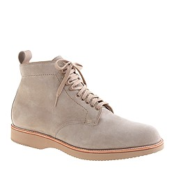 Alden® for J.Crew plain-toe boots in suede