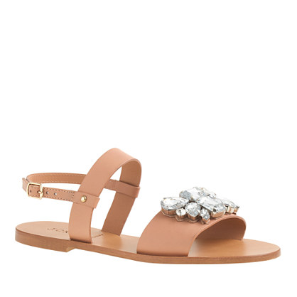 Camden jeweled sandals