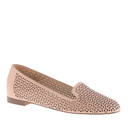 Cleo perforated loafers