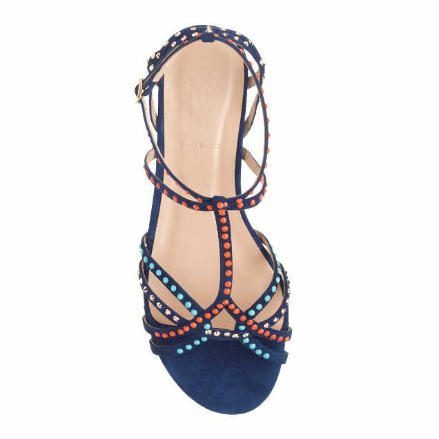 Collection Millie crystal sandals