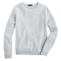 Crepe cotton sweatshirt