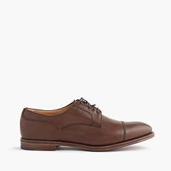 Alfred Sargent™ for J.Crew cap-toe brogues in pony brown leather