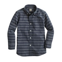 Boys' Secret Wash  shirt in horizontal stripe