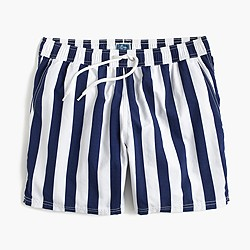 "6"" swim trunk in astor blue stripe"