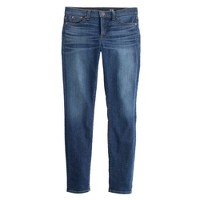 Stretch toothpick jean in miller wash