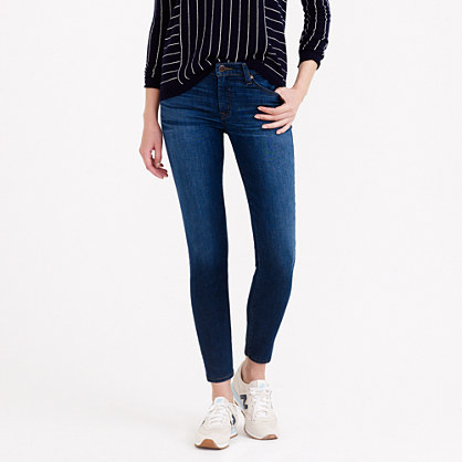 Tall stretch toothpick jean in miller wash