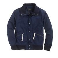 Waxed canvas utility jacket