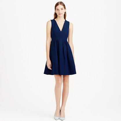 Sophie dress in classic faille