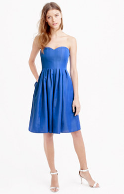 Marlie dress in classic faille