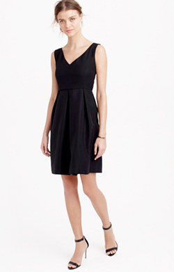 Kami dress in classic faille