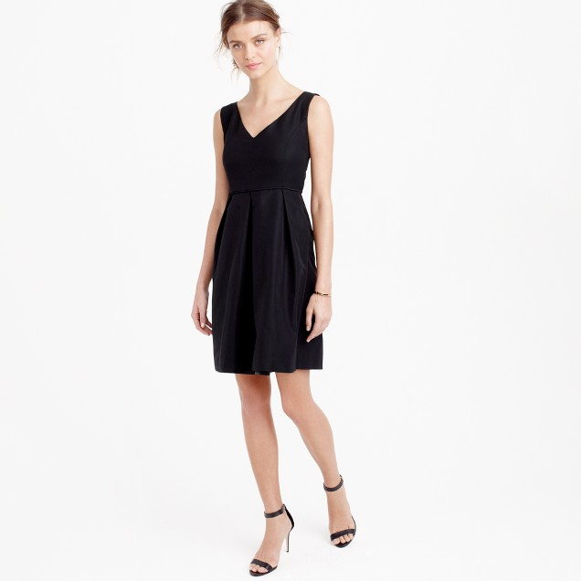 Petite Kami dress in classic faille
