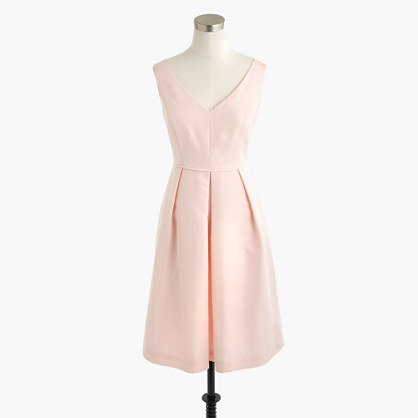 Petite Kami dress in classic faille