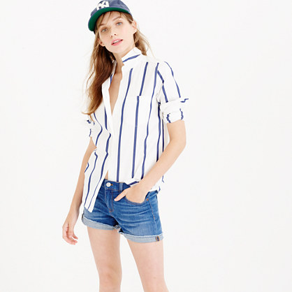 Denim short in light von wash