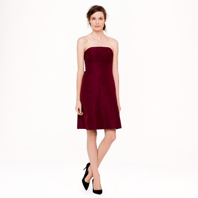Maisie dress in classic faille