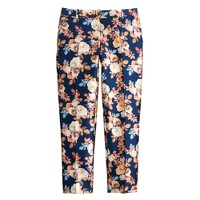 Collection cropped trouser in antique floral