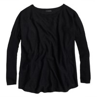 Collection featherweight cashmere swing sweater