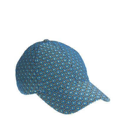 Jacquard baseball cap