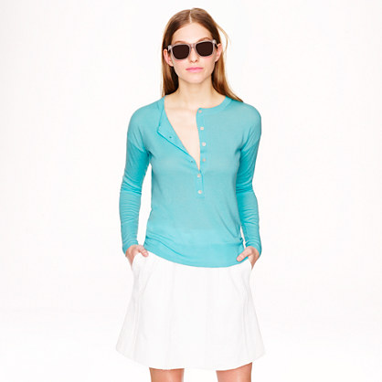 Collection featherweight cashmere henley