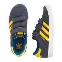 Kids' Adidas® Gazelle sneakers in black