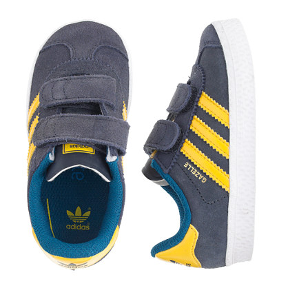 Kids' junior Adidas® Gazelle sneakers in black