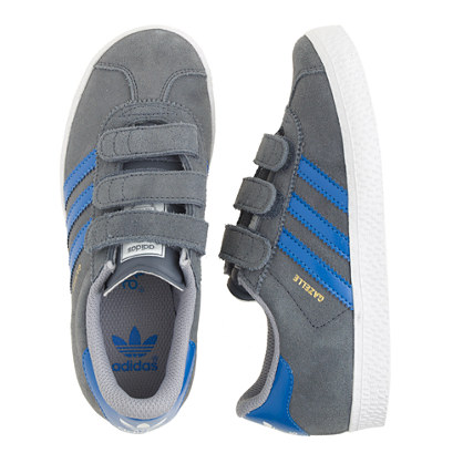 Kids' Adidas® Gazelle sneakers in grey