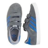 Kids' Adidas® Gazelle sneakers in grey