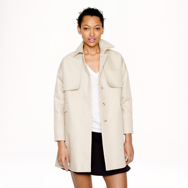 Cotton twill swing trench