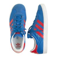 Kids' Adidas® Gazelle sneakers in blue in larger sizes