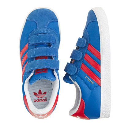 Kids' Adidas® Gazelle sneakers in blue