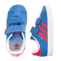 Kids' junior Adidas® Gazelle sneakers in blue
