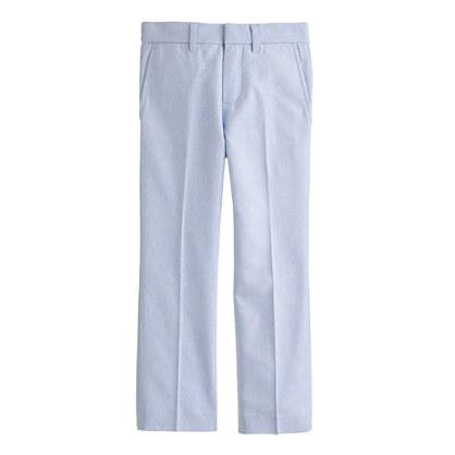 Boys' Bowery slim in cotton oxford cloth