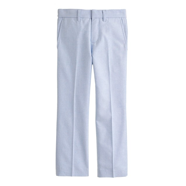Boys' Bowery slim in cotton oxford cloth