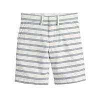 Boys' club short in stripe