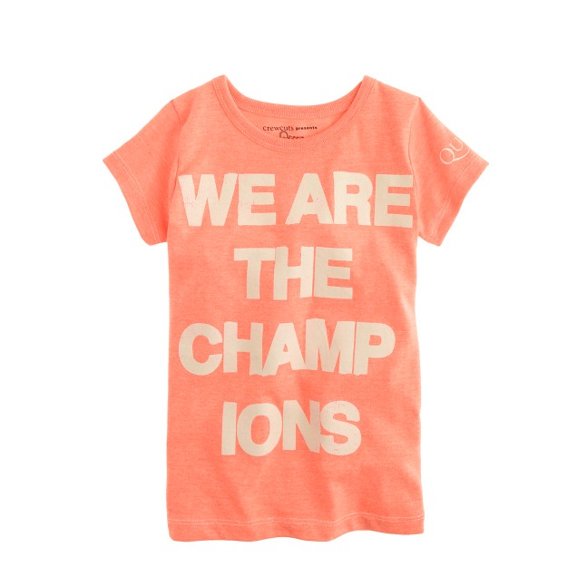 Girls' Bravado™ rock tee for crewcuts