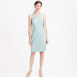 Petite Pamela dress in Leavers lace