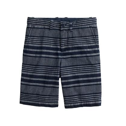 Boys' Stanton short in indigo stripe