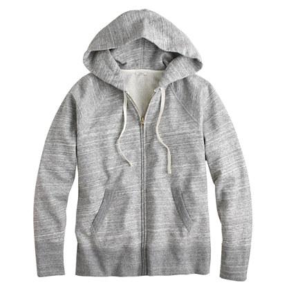 Weekend zip hoodie