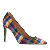 Falsetto plaid pumps